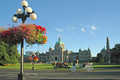 Legislative Building In Victoria