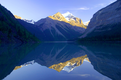 Kinney Lake In Mount Robson Park